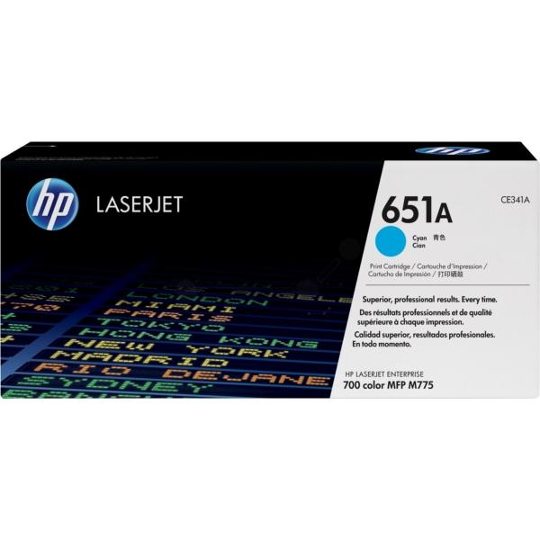 HP 651A Cyan Original LaserJet Tonerkartusche [B³robedarf & Schreibwaren]